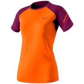 Dynafit Alpine Pro Camiseta Manga Corta Mujer, naranja/violeta